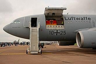 Airbus A310 MRTT - cargo door open