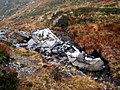 Aircraft wreckage at Bealach Dubh - geograph.org.uk - 264804.jpg