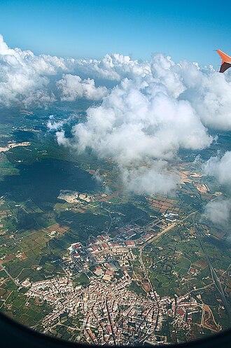 Alaior - Alaior from air