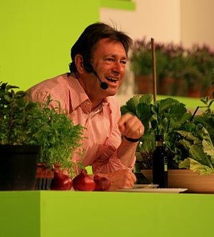 Alan Titchmarsh - Alan Titchmarsh at the 2008 Gardeners' World Live Exhibition in the NEC.