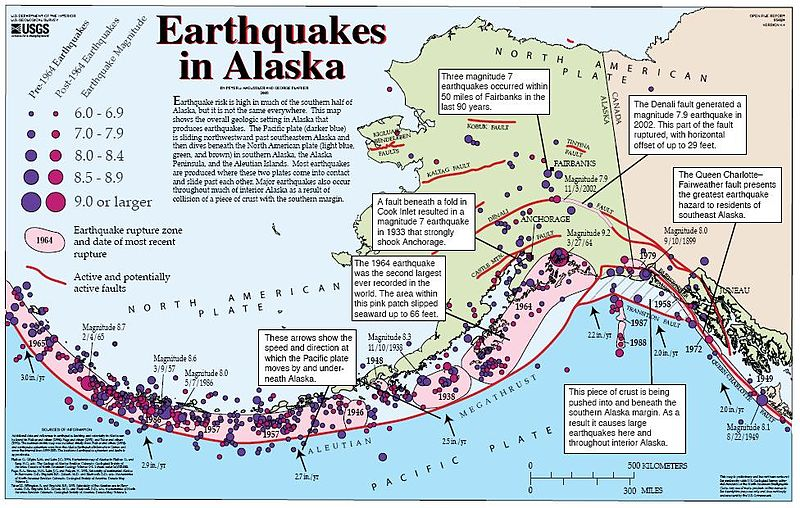 Alaska Earthquakes