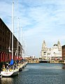 Albert Dock and the Three Graces - geograph.org.uk - 674758.jpg