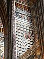 Albi, cathédrale Sainte-Cécile, peintures géométriques des chapelles, 15e s.jpg