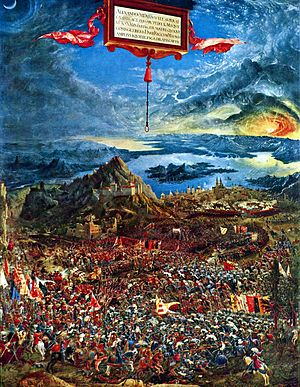 100 Great Paintings - Altdorfer: The Battle of Alexander at Issus