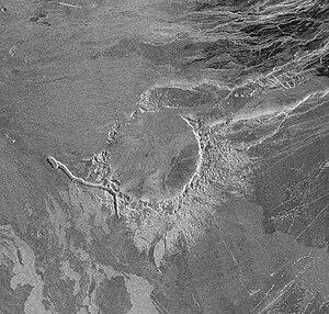 Alcott (crater) - Image: Alcott crater on Venus