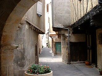 Alet-les-Bains - Image: Alet les Bains (France) Ruelle