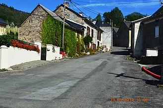 Aleu - A street in Aleu