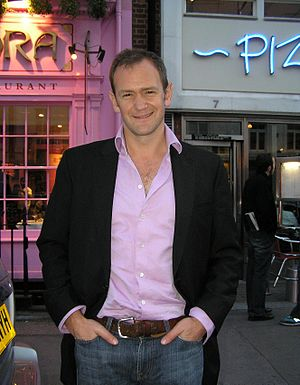 English: Alexander Armstrong, British comedian.