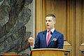 Alexander Stubb (saml) Finlands samarbetsminister. Nordiska radets session 2011 i Kopenhamn (1).jpg