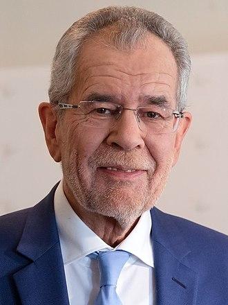 President of Austria - Image: Alexander Van der Bellen 2016 (cropped)