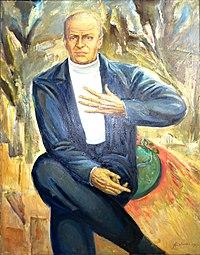 Alexey Kuzmich Portrait of national actor Victor Turov 1989.JPG
