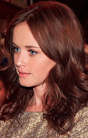Gilmore Girls - Alexis Bledel's first acting job was playing Rory Gilmore