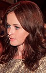 American, actress, model and producer Alexis Bledel