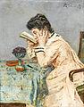 Alfred Stevens La myope 1903.jpg