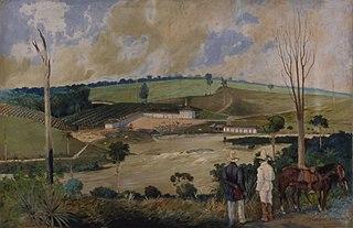 Fazenda da Barra - Campinas, 1840
