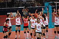 Algeria women's national volleyball team at the 2012 Summer Olympics (7913932700).jpg