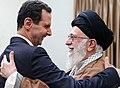 Ali Khamenei meets Bashar al-Assad in Tehran 20190225 01.jpg
