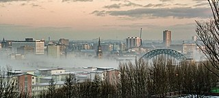Newcastle City Centre city centre of Newcastle upon Tyne, England