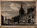 All Souls College and St. Mary's Church, Oxford; showing the Wellcome V0014059.jpg
