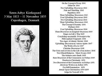 Søren Kierkegaard - Kierkegaard's works