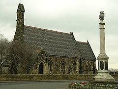 Allerton Bywater St Mary the Less and War Memorial - geograph.org.uk - 121479.jpg
