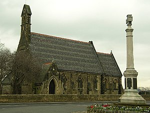Allerton Bywater - Image: Allerton Bywater St Mary the Less and War Memorial geograph.org.uk 121479