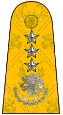 Almirante hombrera SEMAR