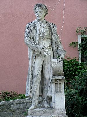 Alois Senefelder - Monument to Alois Senefelder in Solnhofen