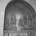 Altaarnis in de Dormition abdijkerk met in de kalot een mozaïek met een afbeeldi, Bestanddeelnr 255-2321.jpg