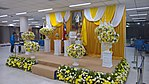 Altar for the King of Thailand at the Don Muang International Airport.jpg