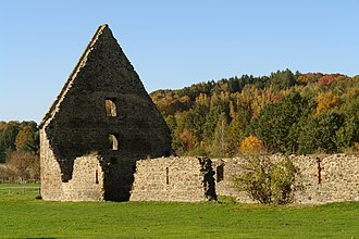 Altzella Abbey - Former grainstore