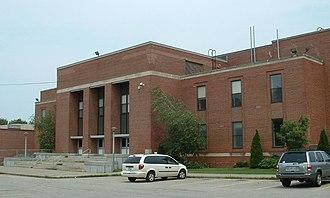 Alumni Hall (Providence) - Image: Alumni PC Front