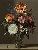 Ambrosius Bosschaert I - Flowers in a Rummer with a Tulip at the Top.jpg