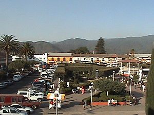 Amecameca - Main plaza