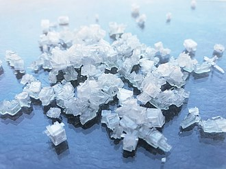 Ammonium chloride - Image: Ammoniumchlorid Kristalle