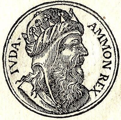 Amon volgens het 'Promptuarii Iconum Insigniorum