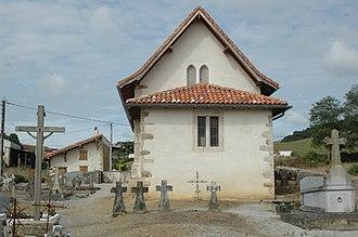 Amorots-Succos - Image: Amorots Succos église benoîterie