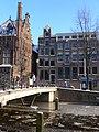Amsterdam - Oudezijds Voorburgwal - bridge ice.JPG