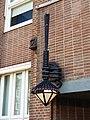 Amsterdamse schoolstijl lantaarn, Rijksmonumentnummer 491984, Stadhouderskade 1, foto 1.JPG