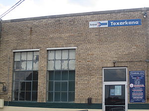Texarkana, Texas - Amtrak station in Texarkana