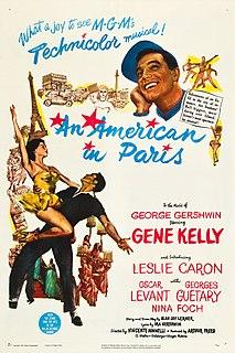 <i>An American in Paris</i> (film) 1951 film by Vincente Minnelli