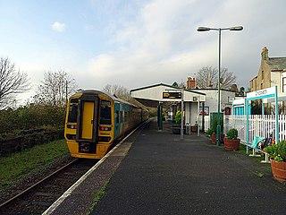 Criccieth railway station