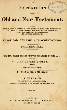 An Exposition of the Old and New Testament (1828) vol 3.djvu