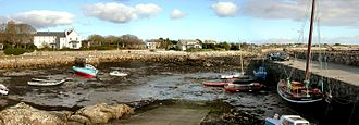 Spiddal - The old harbour