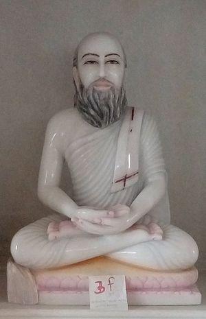 Anandghan - Idol in library of Lodhadham near Mumbai, Maharashtra