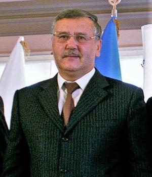 Anatoliy Hrytsenko - Hrytsenko in October 2012