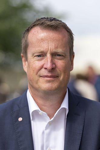 Minister for Home Affairs (Sweden) - Image: Anders Ygeman i Almedalen