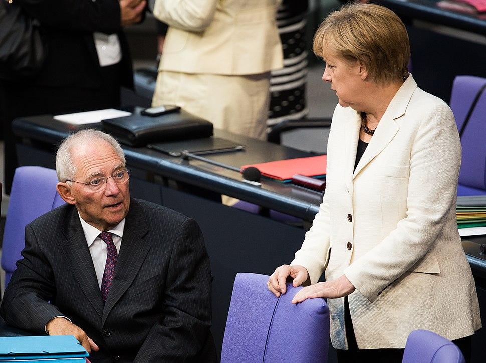 Angela Merkel, Wolfgang Sch%C3%A4uble (Tobias Koch) 2