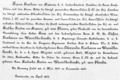 Ankündigung der Hochzeit von Rosa Freiin von Krauss 1894.png