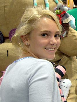 AnnaSophia Robb op 9 februari 2005 tijdens Comic Con International